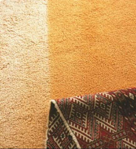 fading carpet